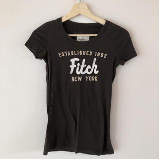 アバクロンビーアンドフィッチ(Abercrombie&Fitch)のアバクロ Tシャツ ブラウン(Tシャツ(半袖/袖なし))