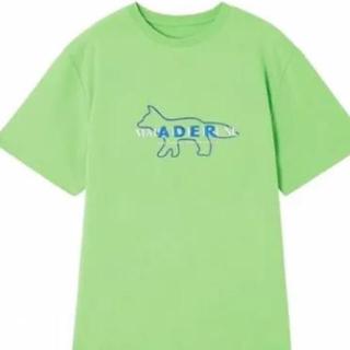 メゾンキツネ(MAISON KITSUNE')のadererror ×maison kitsuneコラボTシャツ(Tシャツ/カットソー(半袖/袖なし))