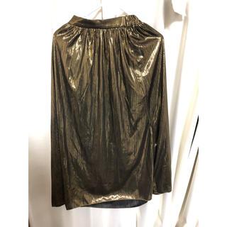 JEANASIS - ジーナシス  ゴールド スカート