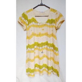 ユニクロ(UNIQLO)のユニクロ Tシャツチュニック(Tシャツ(半袖/袖なし))