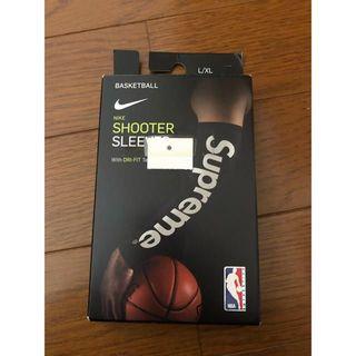 Supreme シュプリーム ナイキ スリーブス NBA 黒 L/XL