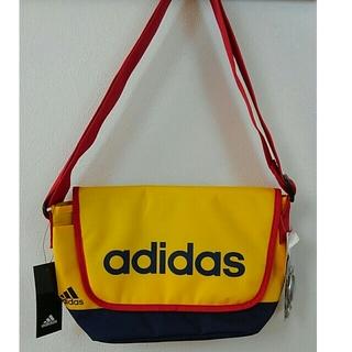 adidas - アディダス ショルダーバック 黄 紺 赤