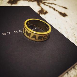 マークバイマークジェイコブス(MARC BY MARC JACOBS)のmarc jacobs 指輪 リング 白(リング(指輪))