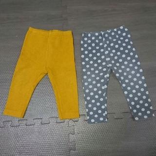 ユニクロ(UNIQLO)のユニクロ カルソンパンツ 80cm  2枚セット(パンツ)