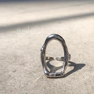 TODAYFUL - シルバー925 ビックサークルリング silver925 リング