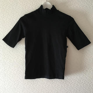 アニエスベー(agnes b.)のagnes b アニエスベー ハイネック コットン Tシャツ M(Tシャツ(半袖/袖なし))