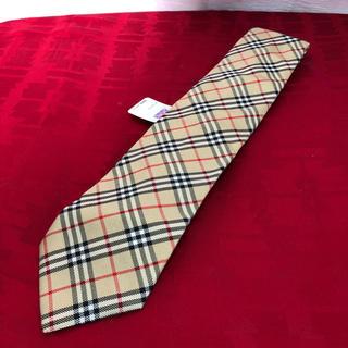 バーバリー(BURBERRY)の未使用 Burberry バーバリー ノバチェック ネクタイ 正規品(ネクタイ)