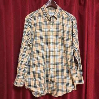 バーバリー(BURBERRY)の✩.*˚【90s】Burberrys☆定番ノバチェックシャツ ホースロゴ✩.*˚(シャツ)
