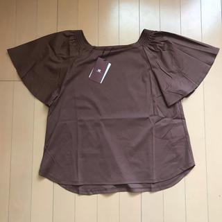 アーバンリサーチ(URBAN RESEARCH)の新品☆アーバンリサーチ ブラウン 茶色 トップス Tシャツ(Tシャツ(半袖/袖なし))