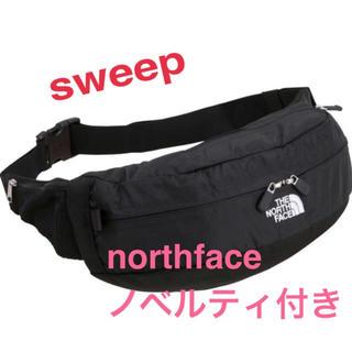 ザノースフェイス(THE NORTH FACE)の新品未使用タグ付 ノースフェイス sweep スウィープ NM71904ブラック(ボディバッグ/ウエストポーチ)