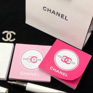 シャネル(CHANEL)のシャネル メモパッド 正規非売品 ピンク&マゼンタ(ノート/メモ帳/ふせん)