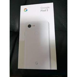 ANDROID - 【新品】Googlepixel 3