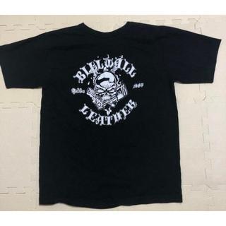 ビルウォールレザー(BILL WALL LEATHER)のBWL(ビルウォールレザー)Tシャツ スカル ブラック(Tシャツ/カットソー(半袖/袖なし))