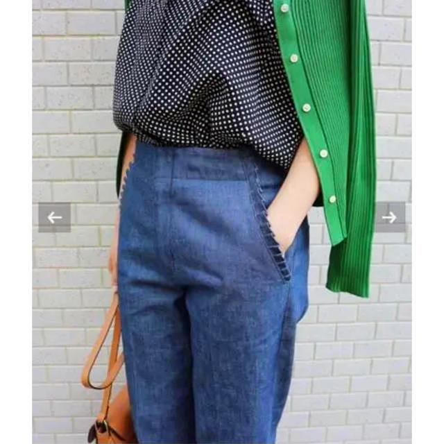 IENA(イエナ)のイエナ デニム フリルポケット 36 未使用♡ レディースのパンツ(デニム/ジーンズ)の商品写真