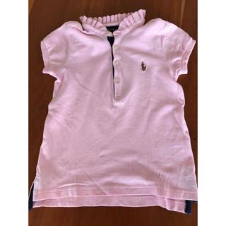 ラルフローレン(Ralph Lauren)のラルフローレン ポロシャツ ピンク4T(Tシャツ/カットソー)