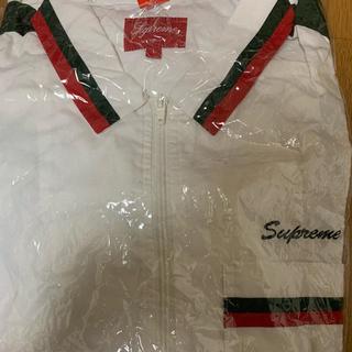 シュプリーム(Supreme)の2018 supreme zip up work shirt white (シャツ)