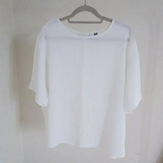 ユニクロ(UNIQLO)のユニクロレディースM(Tシャツ(半袖/袖なし))