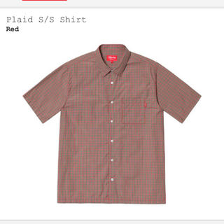 シュプリーム(Supreme)のSupreme Plaid S/S Shirt Color:Red Size:L(シャツ)