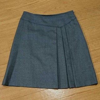 marble ink - 【難あり】プリーツ セミタイト グレー スカート