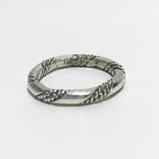 ゴローズ(goro's)のインディアンジュエリー ナバホ族 ツイスト リング キムタク着 ホーセンブース(リング(指輪))