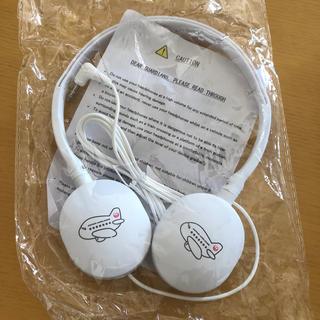 ジャル(ニホンコウクウ)(JAL(日本航空))の新品 キッズヘッドフォン(ヘッドフォン/イヤフォン)