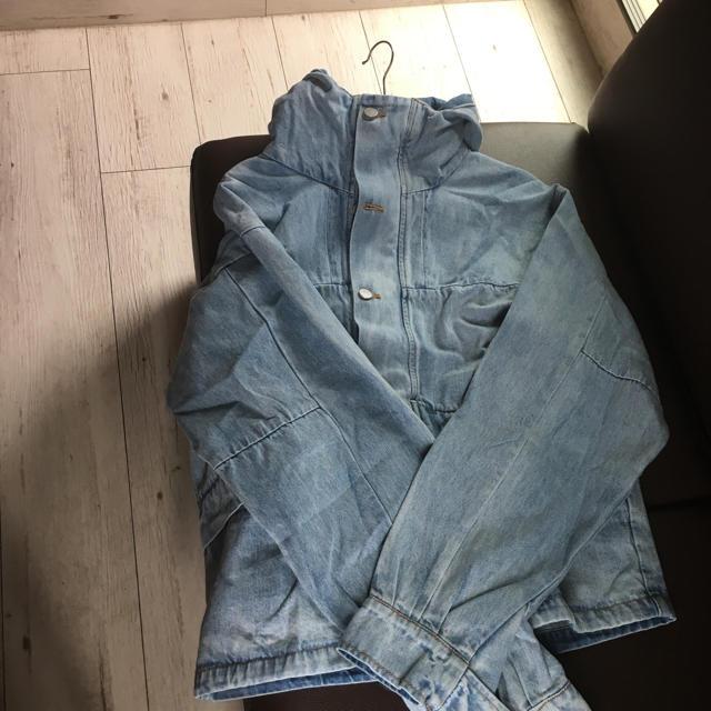 FEAR OF GOD(フィアオブゴッド)のmnml ミニマル フーテッド デニム ジャケット パーカー M ミニマル メンズのジャケット/アウター(Gジャン/デニムジャケット)の商品写真