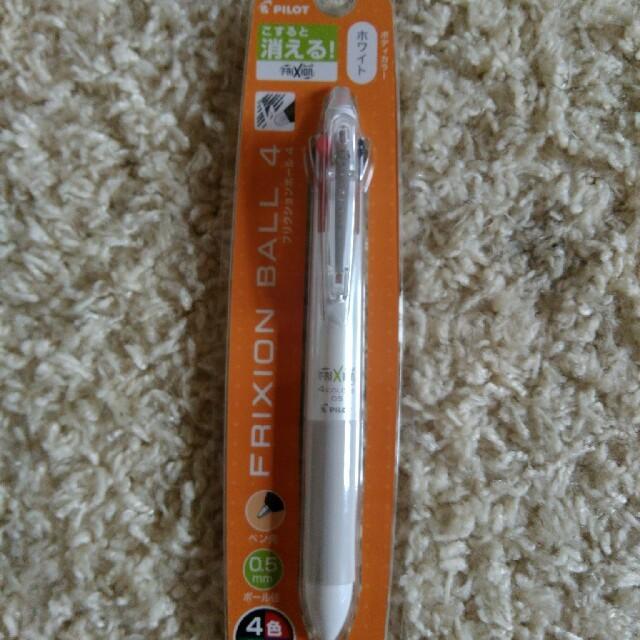 フリクションボールペン 4色 0.5mm インテリア/住まい/日用品の文房具(ペン/マーカー)の商品写真
