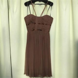 スコットクラブ(SCOT CLUB)の新品未使用 スコットクラブ シルクドレス(ミディアムドレス)