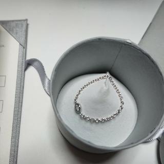 クリスチャンディオール(Christian Dior)のDior mimioui リング WG(リング(指輪))