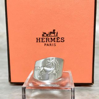 エルメス(Hermes)の正規品 エルメス 指輪 馬 シルバー ホース 銀 エソワ リング シュバル SV(リング(指輪))
