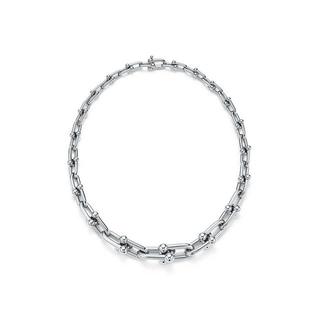 ティファニー(Tiffany & Co.)の【Tiffany】ティファニー ハードウェア グラジュエイテッドリンクネックレス(ネックレス)