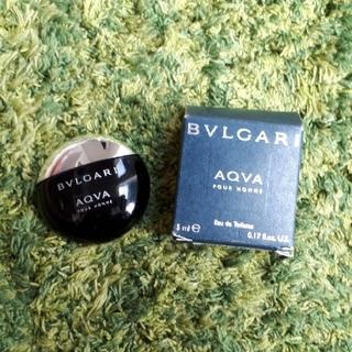 ブルガリ(BVLGARI)の【中古】BVLGARI AQVA ROURHOMME 5ml(香水(男性用))