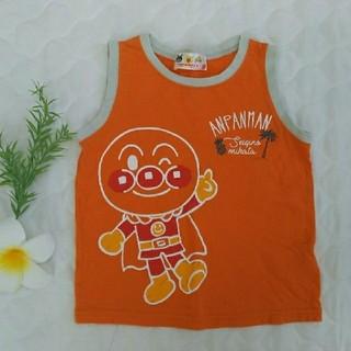 アンパンマン(アンパンマン)の【美品】アンパンマン オレンジ色 タンクトップ 95センチ(Tシャツ/カットソー)