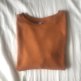 ユニクロ(UNIQLO)のワッフルクルーネックT半袖(Tシャツ(半袖/袖なし))