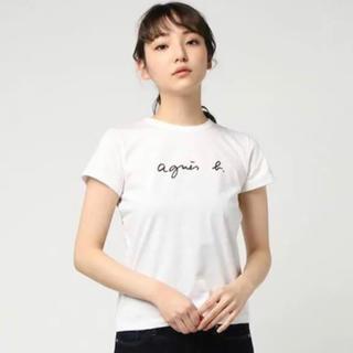 アニエスベー(agnes b.)の大人気のアニエスベーのロゴが入った半袖Tシャツ(Tシャツ(半袖/袖なし))