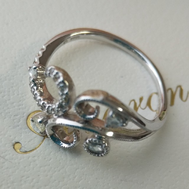 K18🌹バラの茂みのダイヤモンドリング レディースのアクセサリー(リング(指輪))の商品写真