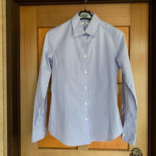 ユニクロ(UNIQLO)のUNIQLOストライプシャツ(シャツ/ブラウス(長袖/七分))