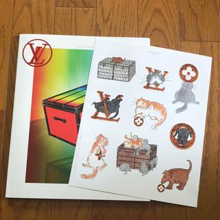 ルイヴィトン(LOUIS VUITTON)のルイヴィトン 非売品カタログ人気キャット猫ドッグシール付☆THE BOOK #9(ノベルティグッズ)