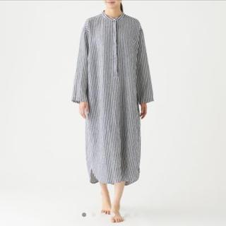 MUJI (無印良品) - オーガニックリネン クルタ・婦人M