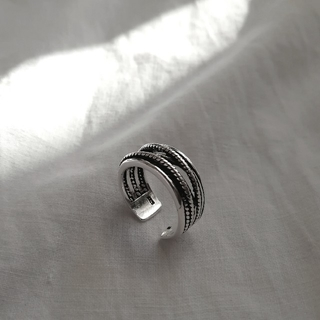 ビームス(BEAMS)のsilver 925 layered ring  *(リング(指輪))