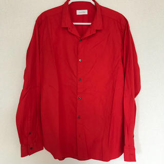 カルバンクライン(Calvin Klein)の【美品】CK カルバンクライン メンズ ワイシャツ(シャツ)