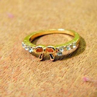 大人かわいい恋するキュービックジルコニアリング(リング(指輪))