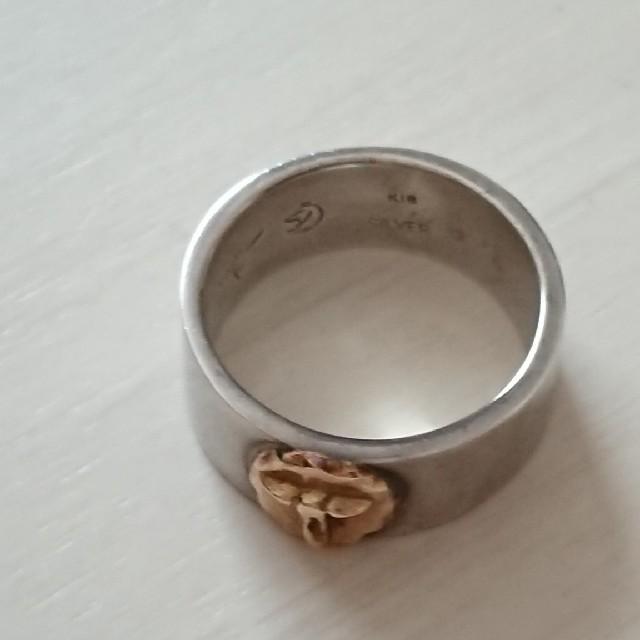 ✨TADY & KING✨平打ちロングホーン✨指輪💍USED➡︎美品✨ レディースのアクセサリー(リング(指輪))の商品写真