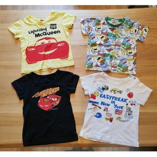 ニシマツヤ(西松屋)のTシャツ 4枚セット カーズ他(Tシャツ/カットソー)