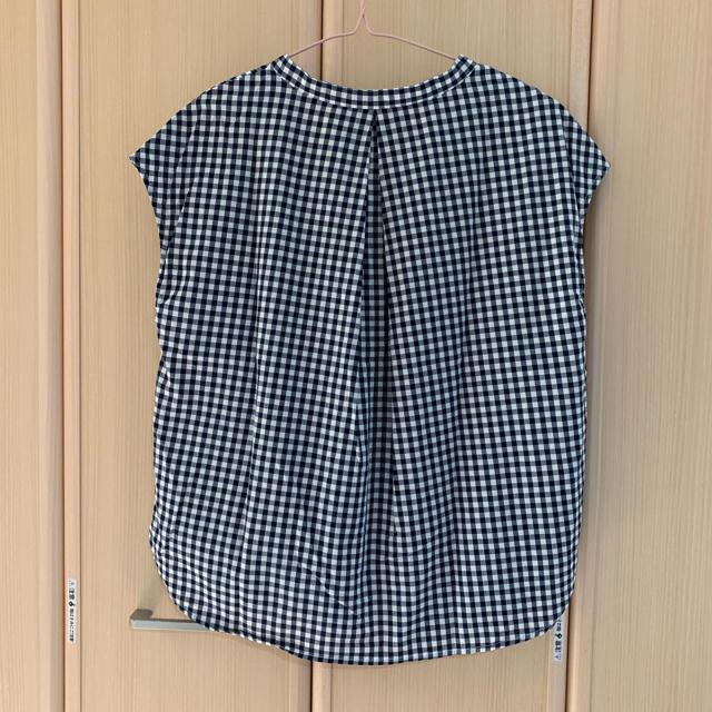 GU(ジーユー)のGU チェックシャツ レディースのトップス(シャツ/ブラウス(半袖/袖なし))の商品写真