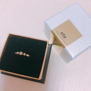 エテ(ete)の【みいみい様専用】ete オパールと淡水パールのリング(リング(指輪))