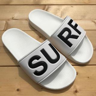 ロンハーマン(Ron Herman)のLUSSO SURF シャワーサンダル  白42☆ベナッシ ルーカ(サンダル)