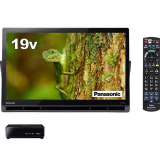 パナソニック(Panasonic)のパナソニック 19V型 液晶 テレビ プライベートビエラ UN-19CFB8-K(テレビ)