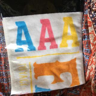 トリプルエー(AAA)のAAA F F F マフラータオル(タオル)