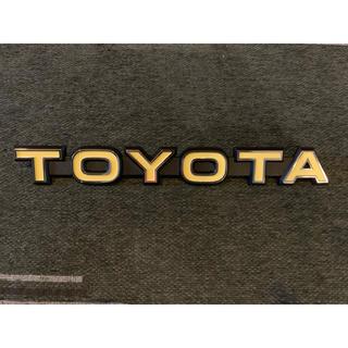 トヨタ(トヨタ)のTOYOTA エンブレム ランクル ランドクルーザー(車外アクセサリ)